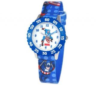 Marvel Captain America Time Teacher Watch —