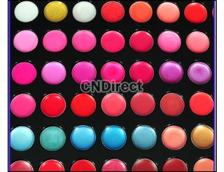Professional 66 Color Lip Gloss Lipstick Makeup Cosmetic Palette