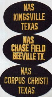 Cap Hat Patch Naval Air Station Corpus Christi Texas USN NAS