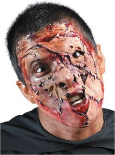 Foam Latex Prosthetic Halloween Mask Stitched Face 2nd Skin