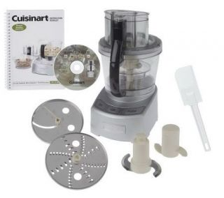Cuisinart 12 Cup 1000 Watt Food Processor w/4 Cup Bowl —