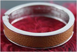 New Stylish Tokyo Jane Silver Brown Bracelet in Presentation Gift Box