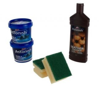 Astonish Multi Purpose Cleaning Paste and Leather Cleaner Kit   V30977
