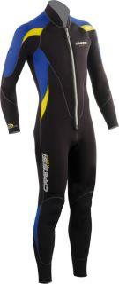 Cressi Lui Men Full Length Wet Suit with Frontal Zipper