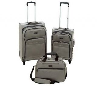 Samsonite Ballistic Weave 3 piece Expandable Luggage Set —
