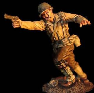 Conte World War II Gi Command Set 1 2 Figures WW2 066