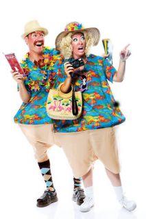 Tourist Couples Mens Womens Halloween Costume Single Costume