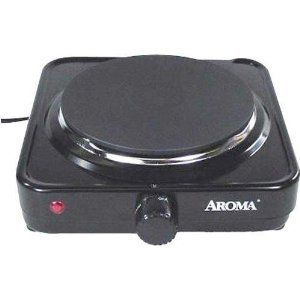 Electric Countertop Hotplate Plate Warmer Heater Single Burner