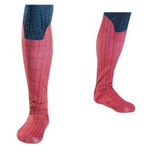 Amazing Spider man Spiderman ADULT Boot Covers Costume Accessory NEW