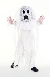 Mask Set Ghoul Scary Kids Boys Spirit Haunt Halloween Costume