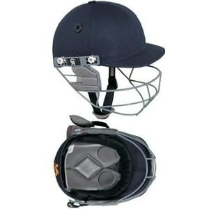 CA Gold Cricket Helmet Navy Blue Batting Protection