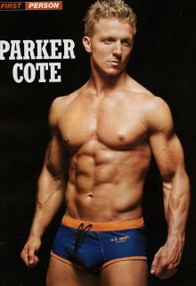 Mens Workout Magazine Best 2011 TJ Hoban Parker Cote