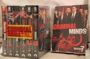 CRIMINAL MINDS Seasons 1 7 on DVD 3 day shipping WOW Season 1 2 3 4 5