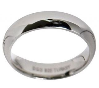 Sterling Silver 5MM Silk Fit Wedding Band Ring   J309986