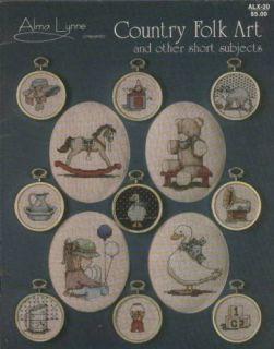 Alma Lynne Country Folk Art Cross Stitch Pattern