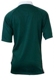 Croker Irish Ireland PolyCotton Rugby Shirt Jersey Size M L XL 2XL 3XL