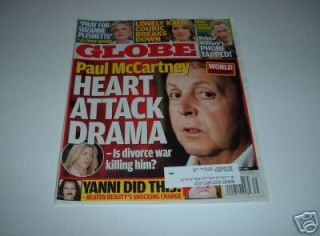 Globe Paul McCartney Yanni Katie Couric Prince William