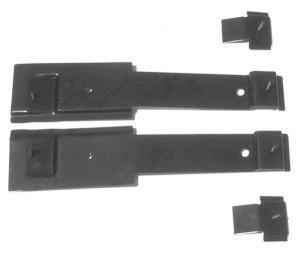 Bucket Seat Mounting Bracket Set 4 Pieces EDP Coated Steel