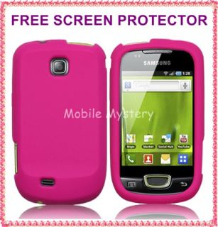 Pink Silicone Soft Case Cover Skin for Samsung GT S5570 Galaxy Mini SP