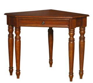 Home Styles Warm Oak Homestead Corner Lap Top Desk —