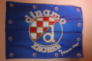 Dinamo Zagreb Bad Blue Boys Croatia Flag Soccer
