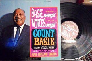 12 Count Basie Basie Swingin Voices Singin VG PS