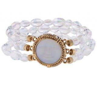 Kirks Folly Petite Dream Stone Stretch Sparkle Bracelet —