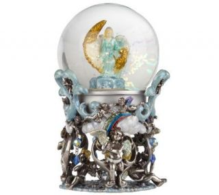 Kirks Folly Secret of the Seven Angels Water Globe —