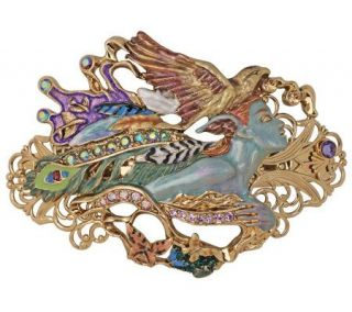 Kirks Folly by Josephine Wall Spirit of FlightLarge Barrette   J300985