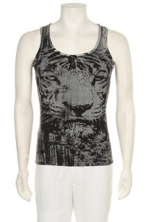Mens Designer Muscle MMA UFC Tiger Black New Tank Tops