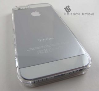 Crystal Clear Hard Shell Snap on Case Cover Apple iPhone 5 6th Gen