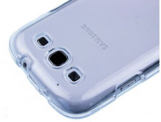 Clear Crystal Hard Skin Case Car Charger Guard for Samsung Galaxy S3