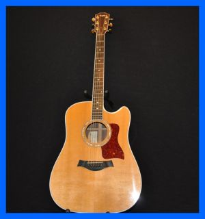Taylor Dan Crary Signature Edition Acoustic Guitar w Hard Case 1995