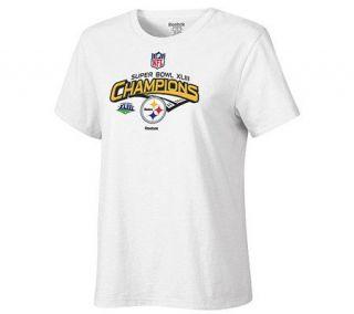 NFL Steelers Super Bowl XLIII Womens Plus SizeT Shirt —