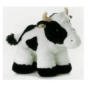 stuffed animal plush 8 COW calf aurora
