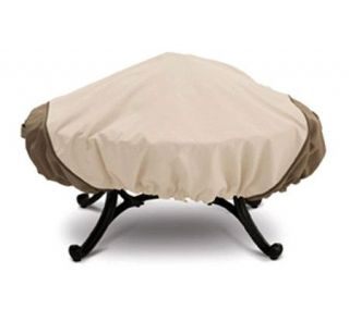 Veranda Fire Pit Cover Large Round by Classic Accessories —