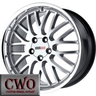 18 Silver Cray Manta Wheels Rims 5x4 75 5 Lug Chevrolet Chevy