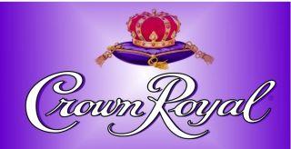 Crown Royal Whisky XR Reserve Black Cask No 16 Deluxe Vinyl Banner B