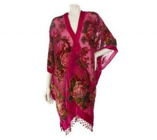 As Is Kirks Folly Victorian Rose Beaded Fairy Robe —