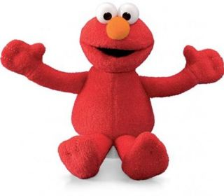 Gund Sesame Street Elmo Beanie 6 Soft Toy New 13579