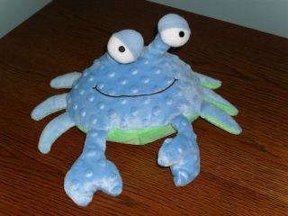 11 Stuffed Plush Hallmark Blue Crab w Clacking Sound