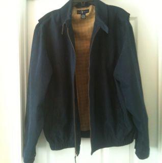 Daniel Cremieux Golf Jacket Navy Blue Mens Size Large