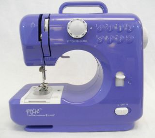 Singer Pixie The Craft Sewing Machine Gift Making Purple Item 1CW