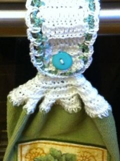 Crochet Towel Edging Pattern - About
