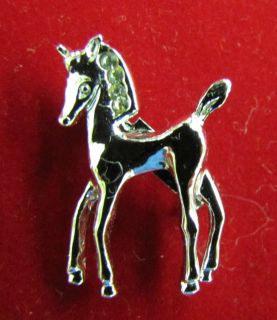 Vintage Gerrys Costume Jewelry Silver Tone Horse Pin or Brooch New 1