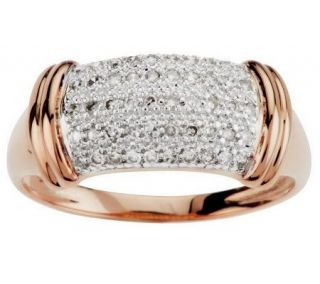 AffinityDiamond 1/4 ct tw High Polished Band Ring, 14K Gold   J271270