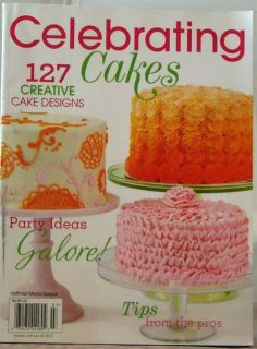 Cakes Magazine 127 Creative Designs Tips from Pros $10 New