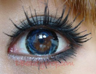Color Contact Lenses Big Eye Barbie Eye Beautiful Hazel Green Brown