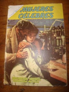 1962 COMIC MEXICAN MUJERES CELEBRES MADAME CURIE