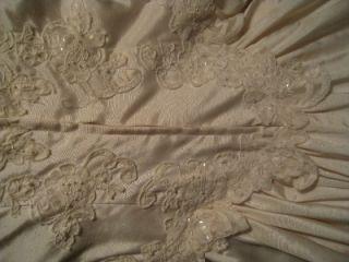 WEDDING/COTILLION/PROM DRESS VINTAGE blush pink NWT BLUSH PINK
